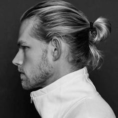 Ponytail Hairstyle for Men