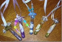 Pixie Dust Necklace Tutorial. Also check out my fairy theme tutus and party favors. www.partiesandfun.etsy.com