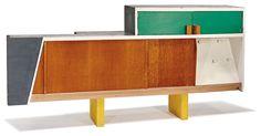 Lot 15 Le Corbusier Kitchen cabinet from Unité d'Habitation, Marseille Designed c. 1952