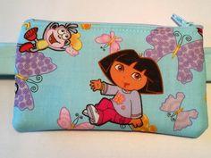 Dora The Explorer insulin pump pouch