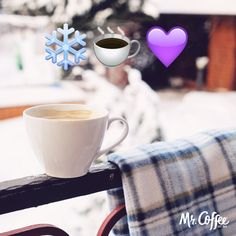 Shortest day of the year? We've still got all morning to enjoy our coffee.   How are you welcoming winter?