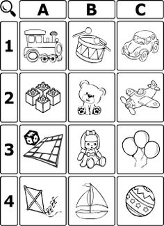 ESL recources to learn and teach English vocabulary connected with the theme Toys: printable worksheets, flashcards, word games and activities. Learning Games For Kids, Board Games For Kids, Student Learning, Vocabulary Worksheets, Worksheets For Kids, Teaching English, Learn English, Printable Word Games, English Games For Kids