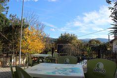 "Restaurant´s ""Adega do Artur"" terrace. Lima Escape Camping & Glamping."
