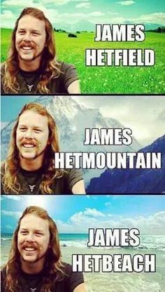 Tagged with funny, stupid, metallica; Heavy Metal Music, Heavy Metal Bands, Music Humor, Music Memes, Metallica Meme, Metallica Concert, Emo Rock, Metal Meme, Rock Y Metal