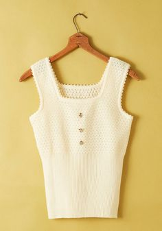 Vintage Cream Cheese Frosting Top, @ModCloth