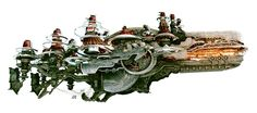 Ifrit Airship Side View