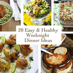 It's that busy time of year with sports and music lessons after school. I hate to say it, but sometimes our dinner suffers, how about at your house? Here's 20