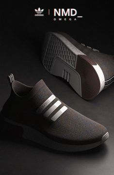 The Adidas Primeknit series is here to collide head-on with Nike's Flyknit. The Adidas Adidas Nmd, Adidas Shoes, Addidas Shoes Mens, Mens Puma Shoes, Men's Shoes, Shoe Boots, Shoes Sneakers, Mens Fashion Shoes, Sneakers Fashion