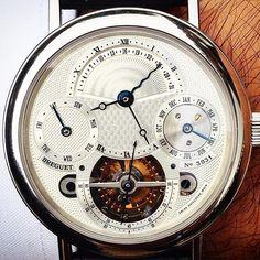 Masterpiece by Breguet. Tourbillion perpetual calendar in platinum  #onhold #breguet #europeanwatchco