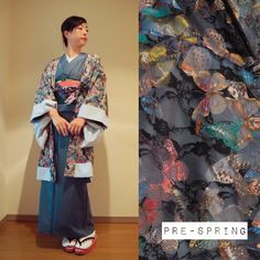 Pre-spring Look on blog, ModeAppetite   春待ち遠しいコーデon BLOG  →http://bit.ly/2jRmx4d (日本語)  #fashion #ootd #japanese #kimono #lace #butterfly #agris #CHOKO #着物 #着物コーデ #梅屋 #ろっこや #大塚呉服店 #photography #olympus