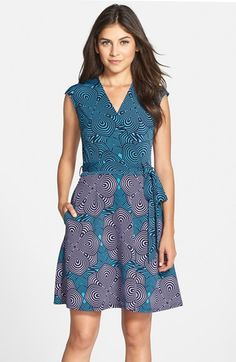 Free shipping and returns on Taylor Dresses Print Jersey & Scuba Faux Wrap Dress at Nordstrom.com. A mesmerizing graphic print energizes an eye-popping faux-wrap dress fashioned with a comfortable jersey bodice and a flared scuba skirt.