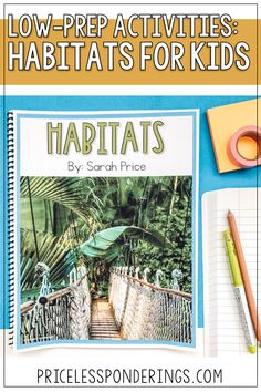 Teach your elementary students about habitats for kids with these fun activities and worksheets. Click the picture to learn more. Second Grade Science, Elementary Science, Fun Activities, Habitats, Prepping, Student, Teaching, Education, Prep Life