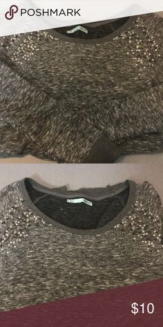 Sweater Grey sweater Maurices Sweaters