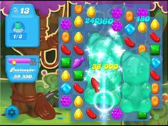Candy Crush Soda levels 01 to 08