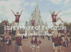 cheer quotes i want to check this one off my cheer list! Cheerleading Tryouts, Cheerleading Quotes, Cheer Quotes, Cheer Coaches, Cheer Stunts, Cheer Pictures, Vacation Pictures, Cheer Pics, All Star Cheer
