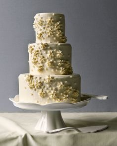 Wedding Cake Inspiration   New Versions of Classic Styles  