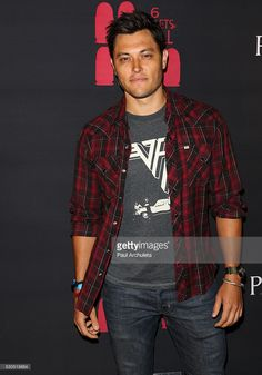 Actor Blair Redford attends the launch of '6 Bullets To Hell' the video game and the movie on May 10, 2016 in Los Angeles, California.