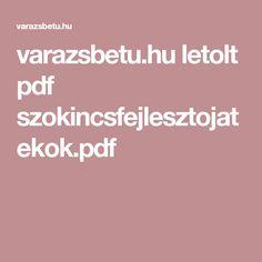 varazsbetu.hu letolt pdf szokincsfejlesztojatekok.pdf Pdf