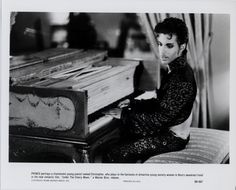 Prince on the set of Under The Cherry Moon: Nice, France (1985)