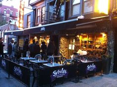 Sylvia's Queen of Soul Food (New York City, Harlem), and some really great breakfast as well!