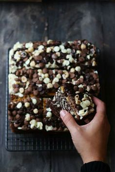 3 chocolates cake