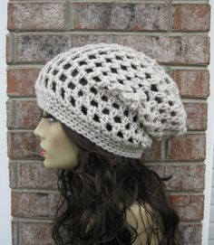 All season Slouchy in CREAMY or any color  Beanie by Malasa, $24.00