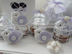 Gaiola com passarinho - Dellicatess for Babies - 2E35D