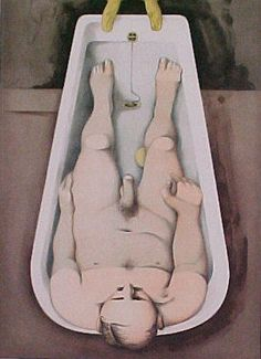 'He foresaw his pale body', 1991 by Richard Hamilton United Kingdom) Richard Williams, Collage Artists, Art Uk, Male Body, Hamilton, United Kingdom, Pop Art, Printmaking, Nude