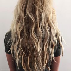 "@kristin_ess on Instagram: ""☀️"" beach hair"