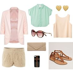 Outfits put together by me for a classy summer!