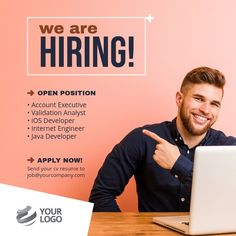 Are you looking for a job change? Apply now, we are hiring multiple positions across the globe! Hiring Employees, Jobs Hiring, Hiring Poster, Enterprise Content Management, Engineering Jobs, Promotional Flyers, We Are Hiring, Job Posting, Social Media Graphics