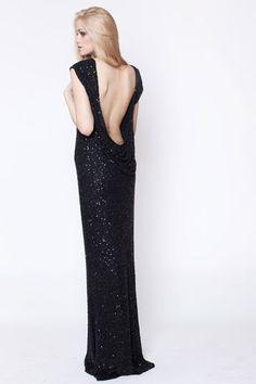 secret PAL long sequin dress
