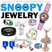 ►► CUTE SNOOPY JEWELRY ►► Jewelry Secrets