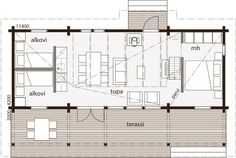 Small House Design, Small House Plans, Tiny House, Villa, Floor Plans, How To Plan, Architecture, Nest, Houses