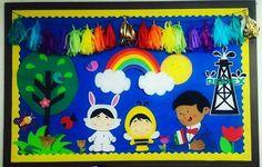 Periodico Mural De Abril En Preescolar