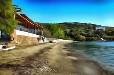 Agia Marina Beach. Batsi, Andros. Marina Beach, Beaches, Greece, Relax, Water, Outdoor, Greece Country, Gripe Water, Outdoors
