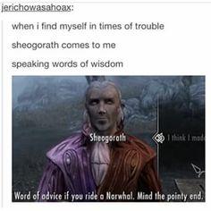 Sheogorath's wisdom