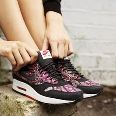 new concept 2e7f9 71c24 clearance nike x liberty womens air max 1 35b03 ffbbe  store combine modern  street style and english heritage in a psychedelic paisley print with the  ...