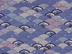 Hey, I found this really awesome Etsy listing at https://www.etsy.com/listing/195650272/seigaiha-wave-motif-furoshiki-japanese