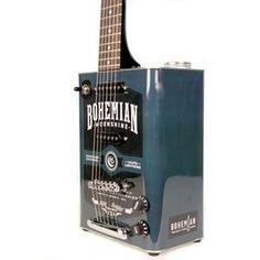 Boho Moonshine - Bohemian Guitars | Custom and Vintage Oil Can Guitars | $299.00 at Bohemianguitars.com