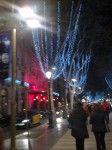 Christmas Lights along La Rambla, Barcelona