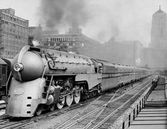 Test run of streamlined 20th Century Limited 1938 - 20th Century Limited - Wikipedia