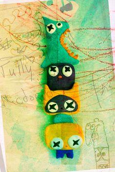 Totem  #Toyart #Toydesign #Characterdesign #Toy
