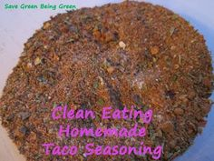 Save Green Being Green: Make It Monday: Taco Seasoning