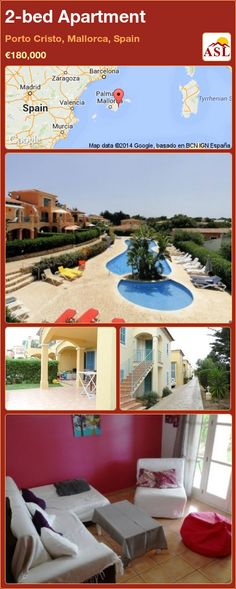 2-bed Apartment in Porto Cristo, Mallorca, Spain ►€180,000 #PropertyForSaleInSpain