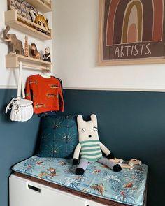 Holy Mackerel Zo leuk om de sweater terug te zien in de kinderkamer van @lotsoffun.kinderkamers  De holztiger leeuw olifant en giraf op het plankje zijn ook weer op voorraad!  #freshgreens #holztiger #houtendieren #woodentoys #kidsfashion #organickidswear #doinggoods #olliella #byalexplaymats #kidsroom #kidsroomdecor #nurserydecor Toddler Bed, Furniture, Home Decor, Child Bed, Decoration Home, Room Decor, Home Furnishings, Home Interior Design, Home Decoration