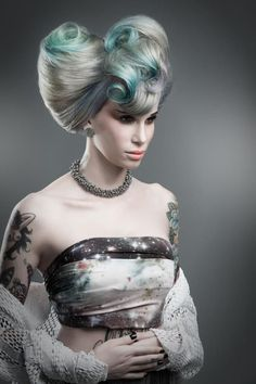 Conceptual Styling: Wella Trend Vision 2013 by Jared Fox, via Behance