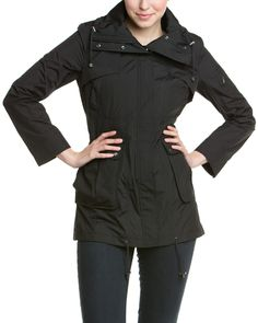 Spotted this Cole Haan Black Packable Anorak Jacket on Rue La La. Shop (quickly!).