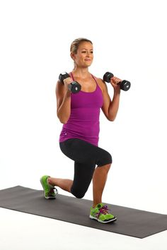 This Lunge Variation Shapes Your Booty and Sculpts Strong, Sexy Arms