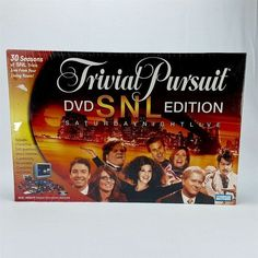 Trivial Pursuit DVD Saturday Night Live SNL Edition 30 Seasons Adult Sealed
